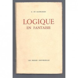 G. de Maubleiges : Logique en fantaisie