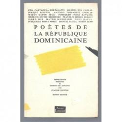 Collectif : Poètes de la République dominicaine.