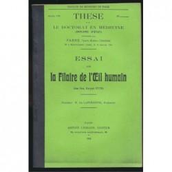 Jean Fabre : Essai sur la filaire de l'oeil humain