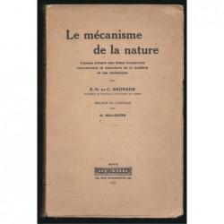 Andrade : Le Mécanisme de la nature..