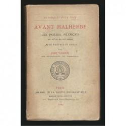 Jean VAUDON : Avant Malherbe