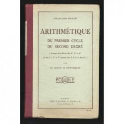 Collectif : Arithmétique du premier cycle du second degré.