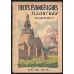 Collectif : Récits évangéliques illustrés. Colette et Bernard en Palestine.