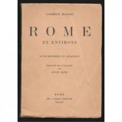 Carmelo Maggio : Rome et environs. Guide historique et artistique.
