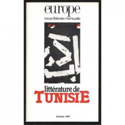 Europe : Littérature de Tunisie.