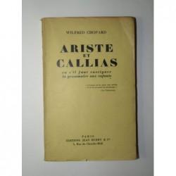 Wilfred Chopard : Ariste et Callias ou s'il faut enseigner la grammaire aux enfants.