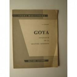 J.-E. Bersier : Goya inventeur de la gravure moderne.