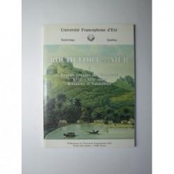 Centre d'Etudes et de Recherche sur les Migrations Atlantiques. : Rochefort et la mer. Tome 5.