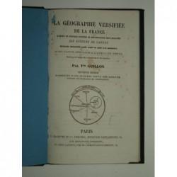 GUILLON : La géographie versifiée de la France d'après un nouveau système de dénomination des localités dit système du c