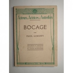 Paul Ginisty : Bocage.