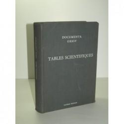 DIEM Konrad. : Tables scientifiques.