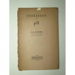 CANTAGREL Marc : Initiation au pH.