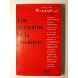 :  Les écrivains et la musique. La Nouvelle Revue Française. Numéros 462-463 :