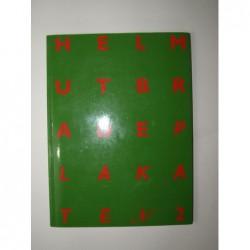 BRADE Helmut : Plakate n°2. 1987-92. Edition originale.