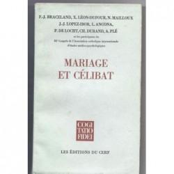 Collectif : Mariage et célibat.
