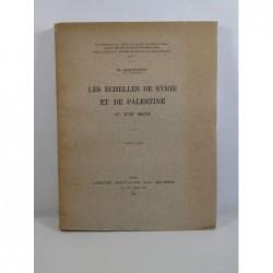 F. CHARLES-ROUX : Les échelles de Syrie et de Palestine au XVIIIe siècle.