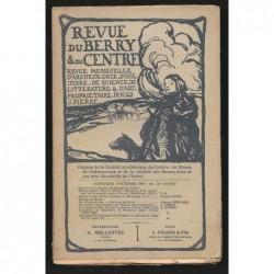 J. PIERRE  : Revue du Berry et du Centre. Octobre 1907.