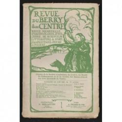 J. PIERRE  : Revue du Berry et du Centre. Juin 1908.
