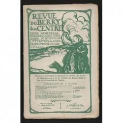 J. PIERRE  : Revue du Berry et du Centre. Août 1908.