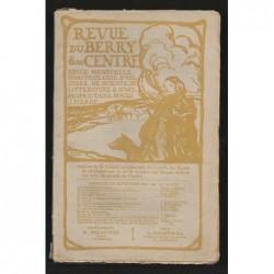 J. PIERRE  : Revue du Berry et du Centre. Septembre 1908.