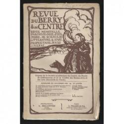 J. PIERRE : Revue du Berry et du Centre. Novembre 1908.