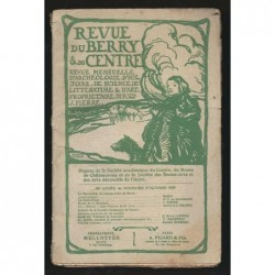 J. PIERRE  : Revue du Berry et du Centre. Octobre 1909.