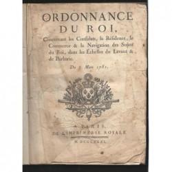 : Ordonnance du Roi. Du 3 mars 1781.