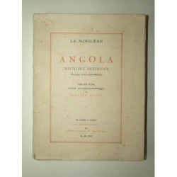 La Morlière : Angola. Histoire indienne. 6 planches libres