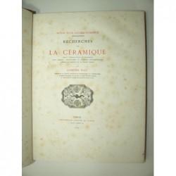 MAZE Alphonse : Recherches sur la Céramique. Notes d'un collectionneur