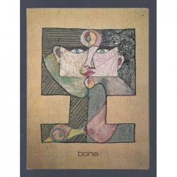 JOUFFROY Alain : BONA. Double présentation de la peinture de Bona.