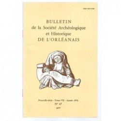 : Bulletin de la Société Archéologique et Historique de l'Orléanais. Nouvelle série. Tome VII.