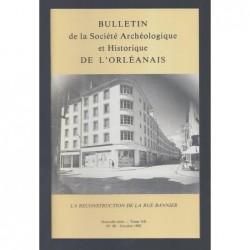 COLLECTIF : Bulletin de la Société Archéologique et Historique de l'Orléanais. Nouvelle série. Tome XII