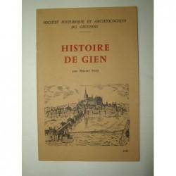 PETIT Marcel : Histoire de Gien.