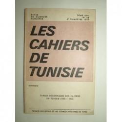 : Les Cahiers de Tunisie. Revue de Sciences Humaines. Tome XVII. Tables décennales (1953-1962).