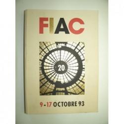 : FIAC. 9-17 octobre 93