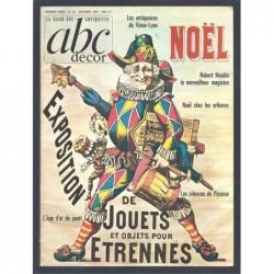: ABC décor. Le guide des antiquités. Numéro 26 : NOËL 1966.