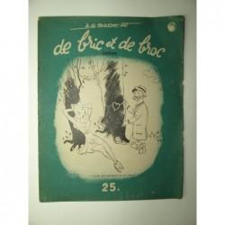 Badert A. G. : De bric et de broc. Dessins.