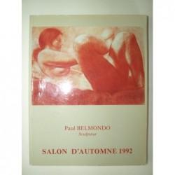 Grand Palais. Salon d'Automne 1992. : Paul Belmondo. Art Contemporain.