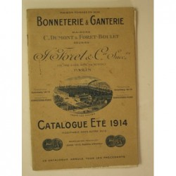 Maisons Dumont et Foret : Bonneterie et ganterie. Catalogue été 1914