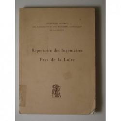Collectif : Répertoire des inventaires. Fascicule n°8 : Pays de la Loire