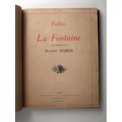Rabier Benjamin : Fables de La Fontaine. 1re partie