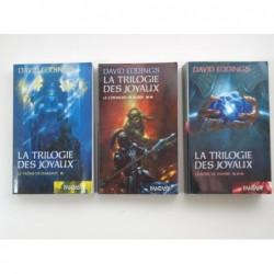 Eddings David  : La Trilogie des joyaux. 3 tomes complet