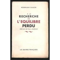 Gaulon Roger-Jean : A la...