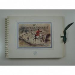 La Verteville Christian de  : 100 dessins de vénerie