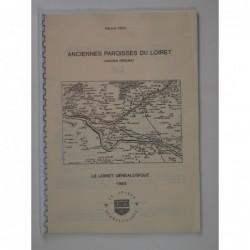 Héau Gérard : Anciennes paroisses du Loiret (Ancien Régime)